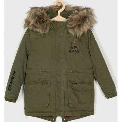 Pepe Jeans - Parka dziecięca Aideen 122-180 cm. Szare kurtki i płaszcze dla dziewczynek Pepe Jeans, z bawełny. Za 519.90 zł.
