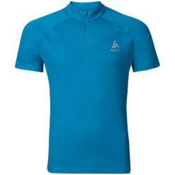 Odlo Koszulka s/s 1/2 zip VIRGO niebieska r. L (347952). T-shirty damskie Odlo. Za 134.12 zł.