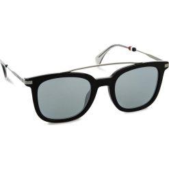 Okulary przeciwsłoneczne TOMMY HILFIGER - 1515/S Black 807. Czarne okulary przeciwsłoneczne damskie Tommy Hilfiger. W wyprzedaży za 449.00 zł.