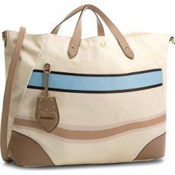 Torebka TWINSET - Shopping Orizzont OS8TAN  Riga Mul 02492. Brązowe torebki do ręki damskie Twinset, z materiału. W wyprzedaży za 469.00 zł.