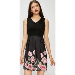Haily's - Sukienka Romina. Szare sukienki damskie Haily's, z nadrukiem, z elastanu, casualowe. W wyprzedaży za 99.90 zł.
