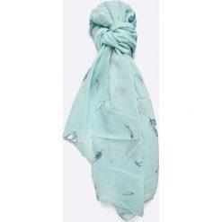 Answear - Szal. Szare szaliki i chusty damskie ANSWEAR, z bawełny. W wyprzedaży za 29.90 zł.