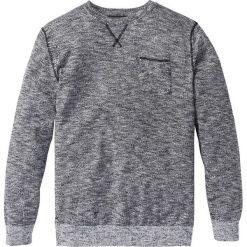 Sweter Regular Fit bonprix czarno-biały melanż. Swetry przez głowę męskie marki Giacomo Conti. Za 49.99 zł.