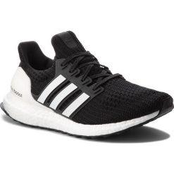 Buty adidas - UltraBoost AQ0062 Cblack/Clowhi/Carbon. Czarne buty sportowe męskie Adidas, z materiału. W wyprzedaży za 559.00 zł.