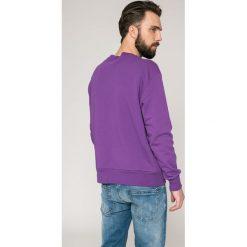 Diesel - Bluza. Szare bluzy męskie Diesel, z nadrukiem, z bawełny. W wyprzedaży za 269.90 zł.