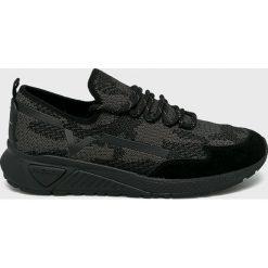 Diesel - Buty. Czarne buty sportowe męskie Diesel, z materiału. W wyprzedaży za 599.90 zł.