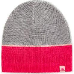 Czapka adidas - Stripy Beanie  DJ2269  Mgreyh/Suppnk/Hazcor. Czerwone czapki i kapelusze damskie Adidas, z materiału. Za 54.95 zł.