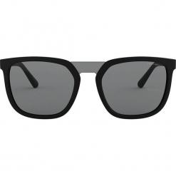 Emporio Armani - Okulary 0EA4123. Brązowe okulary przeciwsłoneczne męskie Emporio Armani, z materiału. Za 549.90 zł.