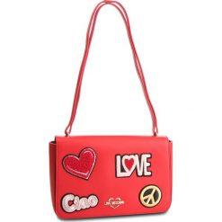 Torebka LOVE MOSCHINO - JC4083PP17LJ0500 Rosso. Czerwone torebki do ręki damskie Love Moschino, ze skóry ekologicznej. Za 909.00 zł.