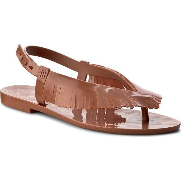 Sandały MELISSA Harmonic Sandal+Sali 31910 Brown 01459