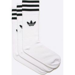 Adidas Originals - Skarpetki (3-pack). Szare skarpety damskie adidas Originals, z bawełny. Za 54.90 zł.