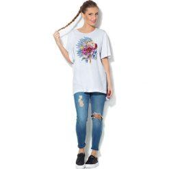 Colour Pleasure Koszulka CP-033  229 biała r. uniwersalny. Bluzki damskie Colour Pleasure. Za 76.57 zł.