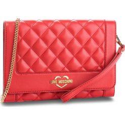 Torebka LOVE MOSCHINO - JC4205PP06KA0500 Rosso. Czerwone torebki do ręki damskie Love Moschino, ze skóry ekologicznej. Za 719.00 zł.
