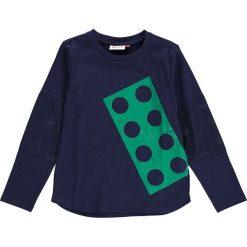 """Koszulka """"Thomas 604"""" w kolorze granatowym. Niebieskie t-shirty dla chłopców marki LEGO Wear, z materiału, z długim rękawem. W wyprzedaży za 59.95 zł."""