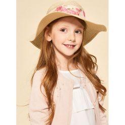 Sweter z koralikami na dekolcie - Różowy. Swetry dla dziewczynek Reserved. W wyprzedaży za 29.99 zł.