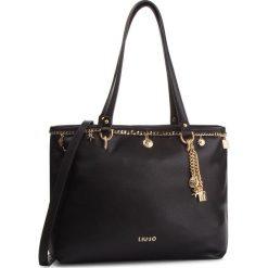 Torebka LIU JO - L Shopping A19110 E0058 Nero 22222. Czarne torebki do ręki damskie Liu Jo, ze skóry ekologicznej. Za 689.00 zł.