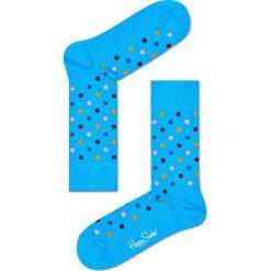 Happy Socks - Skarpetki Essentials. Niebieskie skarpety damskie Happy Socks, z elastanu. W wyprzedaży za 29.90 zł.