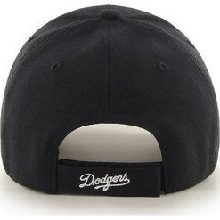 47brand - Czapka Los Angeles Dodgers. Czarne czapki i kapelusze męskie 47brand. Za 79.90 zł.
