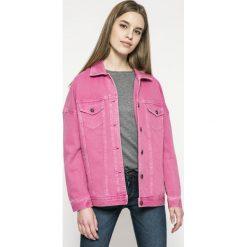 Vero Moda - Kurtka. Różowe kurtki damskie Vero Moda, z bawełny. W wyprzedaży za 129.90 zł.