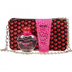 """3-częściowy zestaw """"Pink Bouquet"""" - EDT, balsam, torebka. Różowe torebki do ręki damskie Zestawy prezentowe, z aplikacjami. Za 139.95 zł."""