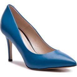 Szpilki GINO ROSSI - Savona DCG211-S36-VF00-5300-0 55. Niebieskie szpilki damskie Gino Rossi, ze skóry. W wyprzedaży za 309.00 zł.