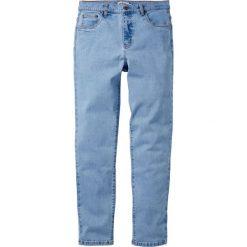 Dżinsy ze stretchem Classic Fit Tapered bonprix jasnoniebieski. Niebieskie jeansy męskie bonprix. Za 89.99 zł.