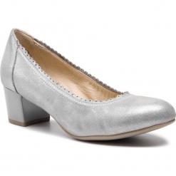 Półbuty CAPRICE - 9-22304-22 Silver Glitter 944. Szare półbuty damskie Caprice, z materiału. Za 249.90 zł.