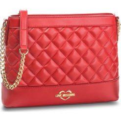 Torebka LOVE MOSCHINO - JC4203PP06KA0500 Rosso. Czerwone torebki do ręki damskie Love Moschino, ze skóry ekologicznej. Za 679.00 zł.