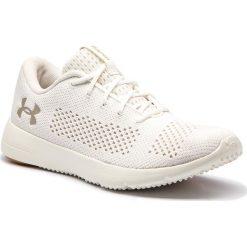 Buty UNDER ARMOUR - Ua W Rapid 1297452-103 Wht. Białe obuwie sportowe damskie Under Armour, z gumy. W wyprzedaży za 179.00 zł.