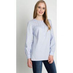 Błękitna koszula z długim rękawem BIALCON. Niebieskie koszule damskie BIALCON, eleganckie, z klasycznym kołnierzykiem, z długim rękawem. W wyprzedaży za 146.00 zł.