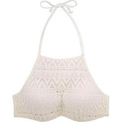 """Biustonosz bikini """"Bahamas"""" w kolorze kremowym. Biustonosze Dorina, w koronkowe wzory. W wyprzedaży za 43.95 zł."""