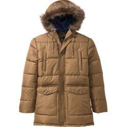 Kurtka parka zimowa Regular Fit bonprix brązowy. Brązowe parki męskie bonprix, na zimę. Za 239.99 zł.