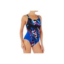 Strój jednoczęściowy pływacki Kamiye damski. Niebieskie kostiumy jednoczęściowe damskie NABAIJI. W wyprzedaży za 59.99 zł.