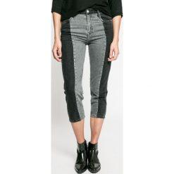 Pepe Jeans - Jeansy Patchy Monotone. Szare jeansy damskie Pepe Jeans. W wyprzedaży za 179.90 zł.