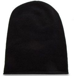 Czapka WEEKEND MAXMARA - Cascia 55760484600 Black 004. Czarne czapki i kapelusze damskie WEEKEND MaxMara, z kaszmiru. Za 469.00 zł.