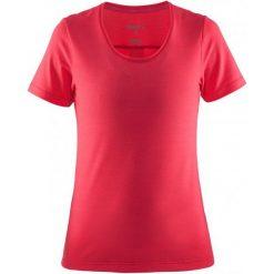 Craft Koszulka Habit Pink  M. Różowe koszulki sportowe damskie Craft, z materiału. W wyprzedaży za 109.00 zł.