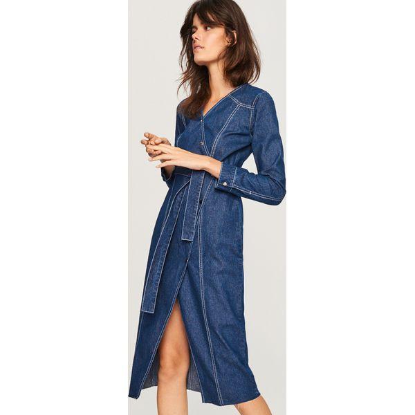 f6460e8616 Jeansowa sukienka - Granatowy - Sukienki damskie marki Reserved. Za ...