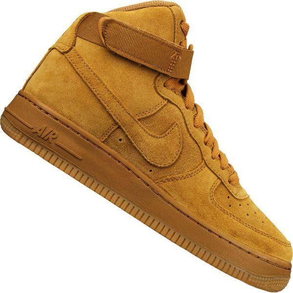 Buty Nike Jr Air Force 1 High Lv 8 Gs Jr 807617 701 żółte