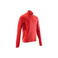 Bluza Do Biegania Długi Rękaw Kiprun Warm Light Męska. Czerwone bluzy męskie KALENJI, z elastanu. Za 99.99 zł.