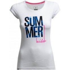 T-shirt damski TSD618 - biały - Outhorn. Białe t-shirty damskie Outhorn, z bawełny. W wyprzedaży za 29.99 zł.