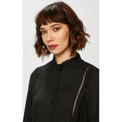 Vero Moda - Koszula. Brązowe koszule damskie Vero Moda, z poliesteru, casualowe, z długim rękawem. Za 149.90 zł.