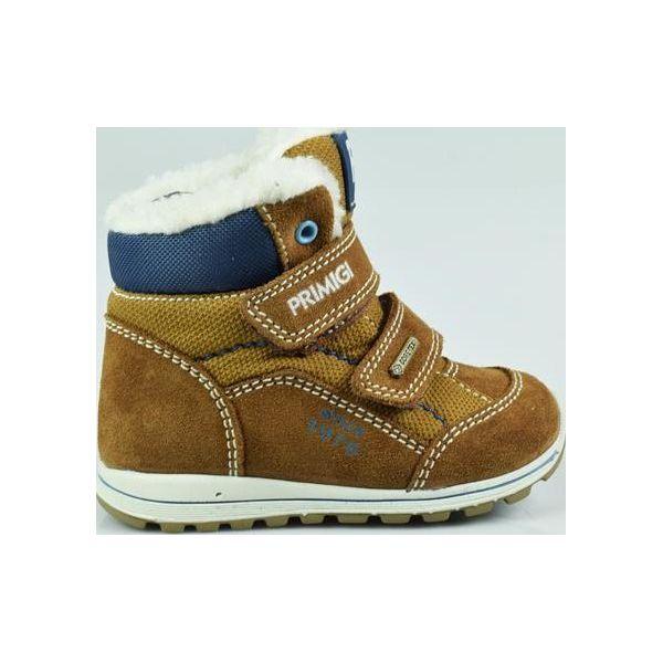 2b52b5dd Primigi Buty Zimowe Chłopięce 25 Brązowe - Brązowe buty zimowe ...