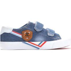 Niebieskie Trampki Peaceful Days. Niebieskie buty sportowe chłopięce Born2be, z materiału. Za 49.99 zł.