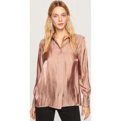 Koszula o satynowym połysku - Beżowy. Koszule damskie marki SOLOGNAC. W wyprzedaży za 59.99 zł.