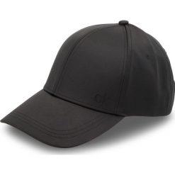 Czapka z daszkiem CALVIN KLEIN - Satinette Cap K60K604717 001. Czarne czapki i kapelusze damskie Calvin Klein, z elastanu. Za 159.00 zł.