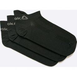 Reebok - Skarpetki. Czarne skarpety damskie Reebok, z elastanu. W wyprzedaży za 44.90 zł.
