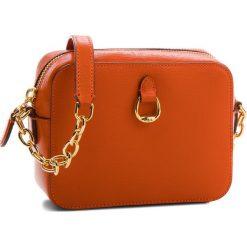 Torebka LAUREN RALPH LAUREN - Bennington 431697815006  Orange. Brązowe torebki do ręki damskie Lauren Ralph Lauren, ze skóry. W wyprzedaży za 549.00 zł.