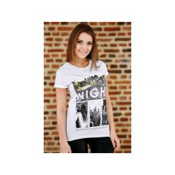 Koszulka UNDERWORLD Ring spun cotton One Night. Białe t-shirty damskie Underworld, z nadrukiem, z bawełny. Za 59.99 zł.