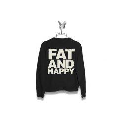 Bluza Fat and Happy Męska. Czarne bluzy męskie Failfake. Za 160.00 zł.