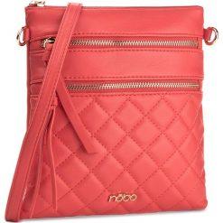 Torebka NOBO - NBAG-E1790-C005 Czerwony. Czerwone listonoszki damskie Nobo, ze skóry ekologicznej. W wyprzedaży za 99.00 zł.